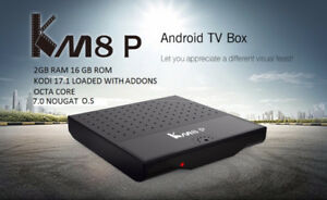 KM8 8-CORE 2gb RAM 16gb ROM KODI 17 ANDROID BOX 7.1 NOUGAT