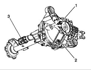GM 2500hd Front Diff