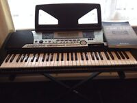 Yamaha Keyboard PSR-550 and Stand Fully Working