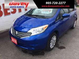 2016 Nissan Versa Note 1.6 SV BACK UP CAMERA, BLUETOOTH, MP3...