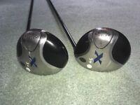 Callaway Golf X - 3 Wood (15º) and 5 Wood (19º)