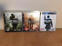 Modern warfare bundle for PS3