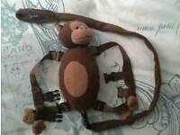 Monkey toddler harness reins