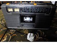Stereo radio cassette