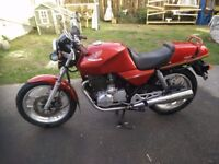*-+*-+ CLASSIC 1986 HONDA XBR 500 SINGLE with TWIN EXHAUSTs *-+*-+
