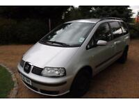 CHEAP CAR - 2005 55 SEAT ALHAMBRA 1.9 REFERENCE TDI 5D 114 BHP DIESEL