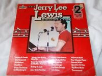 Vinyl LP The Jerry Lee Lewis Collection - Jerry Lee Lewis Pickwick PDA 007 Stereo