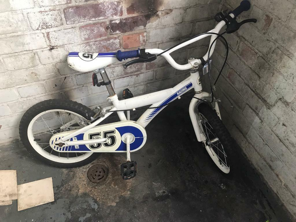 Kids bikein Hackney, LondonGumtree - Kids BIKE 16 Used but still in good conditionSome scratches No longer needed kids have grown out of it