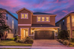6 BR Kissimmee Orlando Near Disney Vacation Rental Home w/ Pool