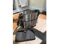 Skip Hop Stripy Changing Bag