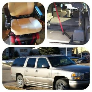 2003 Yukon Denali XL with power wheelchair and lift