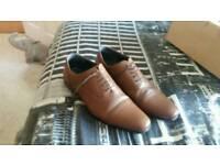 Next mens brown shoes size 8