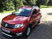 Dacia Sandero Stepway Ambiance - 2014(64). Cinder Red - Reduced for quick sale Immaculate condition