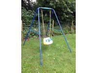 LITTLE TIKES CHILDRENS OUTDOOR SWING