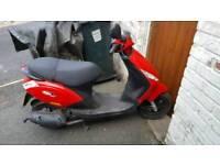 Piaggio Zip motor scooter