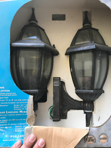 2 x Westinghouse Outdoor Wall Lantern