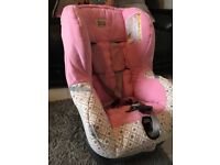 Britax hearts carseat, great condition, little girl to big for it now.