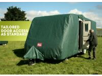 Pro-Tec caravan cover ideal for the winter