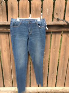 New old navy jeans size 12 tall