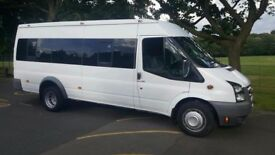 17 seater minibus for hire including driver- WEST LONDON