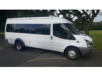 17 seater minibus for hire with driver