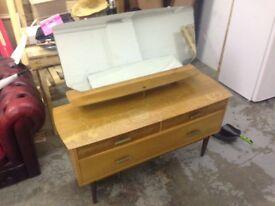 Vintage Retro Danish Style Dresser
