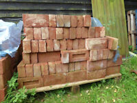 New soft red bricks