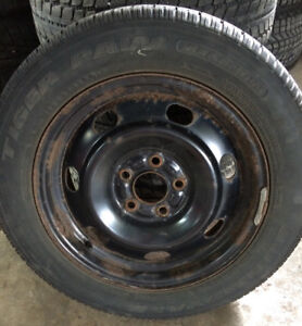 Used Set of Winter rims/tires