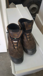 size 10 timberland steel toes