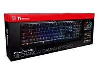 TT eSports Poseidon Z RGB like new mechanical keyboard