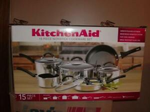 Kitchen Aid Pots Pans (new)