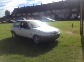 Ford Fiesta 1.7 project