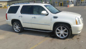 2010 CADILLAC ESCALADE  FULLY LOADED  MAY TRADE FOR TRUCK