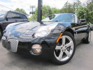 2006 Pontiac Solstice CONVERTIBLE~LEATHER~LOW KMS~MANUAL~25KMS !