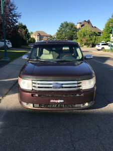 2009 Ford Flex Limited awd CUIR TOIT PANO DVD