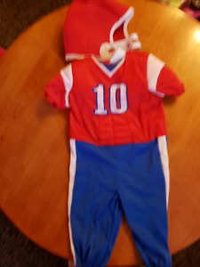 Halloween costume - footbal player / costume d'halloween
