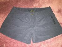 New Navy Bench Shorts size 26 waist