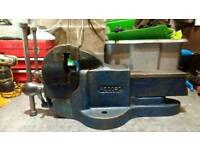 Record no24 bench vice for garage or workshop heavy duty