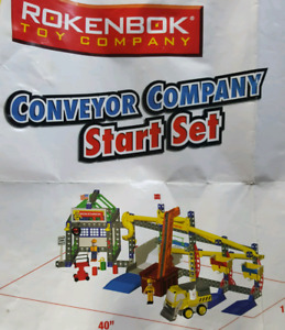 Rokenbok remote conveyer com starter set  plus 2 additional sets