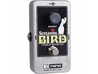 Electro Harmonix Screaming Bird Treble Booster