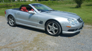 2003 Mercedes Benz SL500.