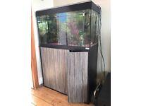 Fluval 180l Fish Tank + Cabinet + Fluval External Pump + Extras