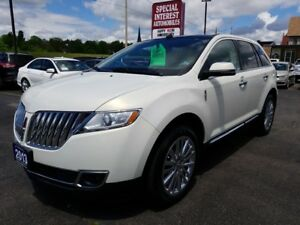 """2013 Lincoln MKX 20"""" CHROME WHEELS !!! ACCIDENT FREE !!!"""