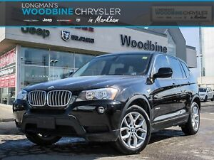 2012 BMW X3 SUPER CLEAN LOW KMS!!!