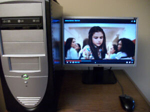Dual Core Desktop - Fresh Windows 7 and MS Office -