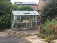Greenhouse for Sale. Buyer to dismantle. Lepton area