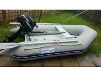 Boat (Dinghy) and outboard