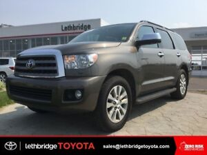 Certified 2014 Toyota Sequoia 5.7L Limited Tech - 8 PASSENGER!