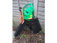Homebase electric leaf blower/vac