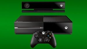 Xbox one with Kinect with 17+ games